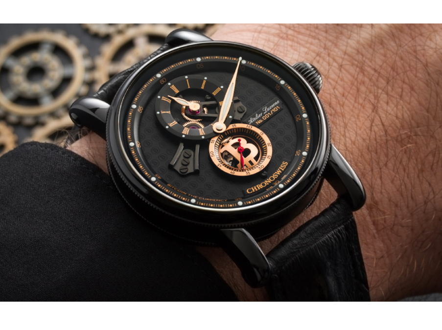 Swiss-made Cryptocurrency Watches: Immortalised on the Blockchain