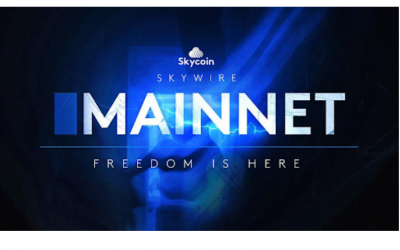 Skycoin Announces Public Release of Skywire Mainnet