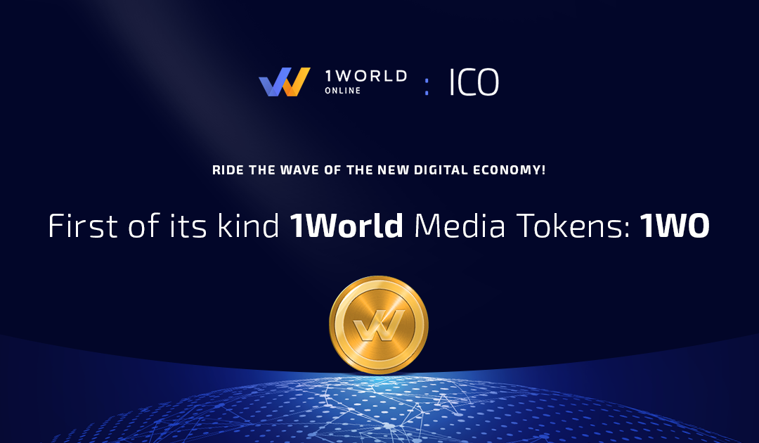 Leading Revenue and Engagement Platform, 1World Online, Announces ICO to Increase User Interactivity, Improve Features